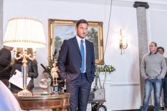Francesco Totti sul backstage di 10eLotto