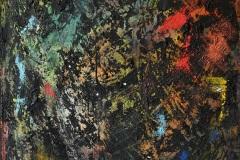 Mauro-Romano-La-Giungla-Carbone-acrilico-su-tela-70x100-2019